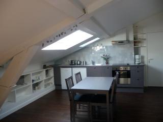 Bel appartement,dans un cour classé sous les toits