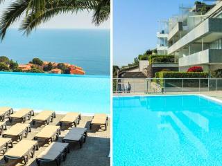 Magnifique piscine et superbe vue sur la mer, Cap d'Ail