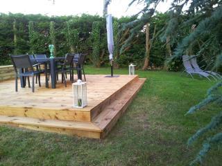 Terrasse privée avec barbecue !