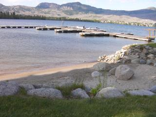 Lake front end unit townhouse, Osoyoos