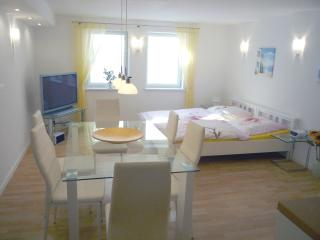 Stylish spacious 2-room apartment, 70 m² near fair