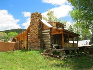 Jordan Cabin Historic Semi Secluded  Setting Stream and cotton wood trees, Ranchos De Taos