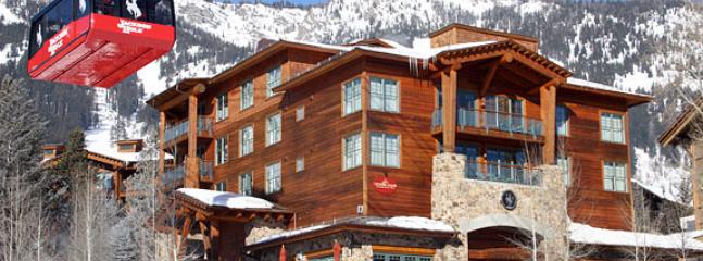 Jackson Hole Teton Club luxury guest condo w/ concierge, valet, & daily maid service. Great location