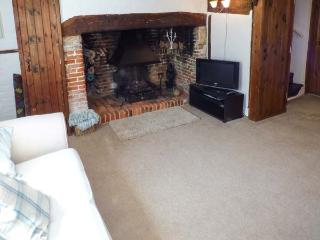 PHOEBE'S COTTAGE, thatched cottage, character features, WiFi, pet-friendly, in Romsey, Ref 931624