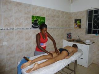 Salle de massage, Villa Le Mérou d'Or