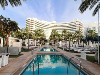 One Bedroom Ocean Suite in the Fontainebleau Hotel