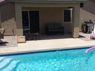 Pool looking toward patio