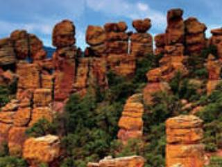 Perfect day trip distance from Chiricahua National Monument, Bisbee, Tombstone, Ramsey Canyon