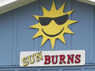 Sun Burns Private Home