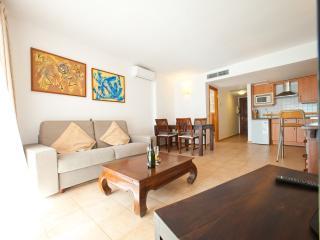 Apartamento con vistas al mar(es canar) Ibiza, Santa Eulalia del Rio