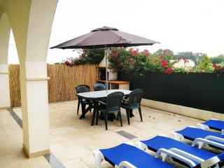 private terrace with barbecue