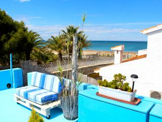 Costa Blanca/ primera línea playa/La casita AZUL, Denia