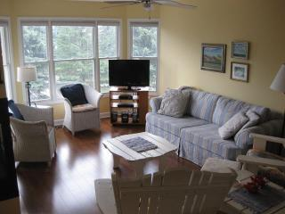 """Beach is Good"" - 3 story Townhouse Sleeps 8 - Walk to Lake Michigan Beach!, Manistee"