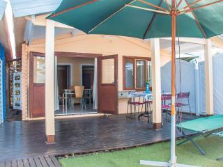 Estudio 2 habitaciones a 100m del mar con piscina y jacuzzi en zonas comunes