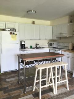 Fully equipped kitchen for all your needs