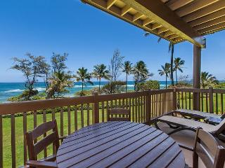 Kaha Lani Resort #224, Ocean Front, 2nd Floor End Unit, Remodeled Kitchen!, Lihue