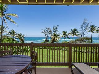 Kaha Lani Resort #224, Ocean Front, Remodeled, Steps to Beach & Bike Path, Lihue