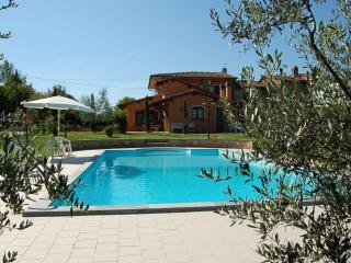 Villa with private pool and fenced garden at 50km from Pisa/Florence, Chiesina Uzzanese