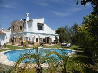 Villa with garden and pool. House with private poo, Conil de la Frontera