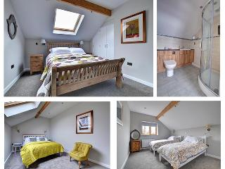 Upstairs; bedroom 1, 2 & 3 and en-suite.