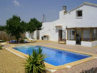 Self contained 3 bedroomed large farmhouse rental, Albox