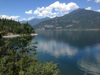 Panorama Cottage, Kootenay Lake, Ainsworth, Kaslo
