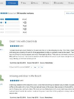 Great reviews from prior property rental company for our 2 bed/2 bath South Padre Island Condo.