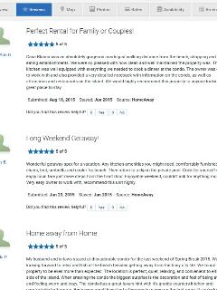 More great reviews from prior property rental company for our 2 bed/2 bath South Padre Island Condo.