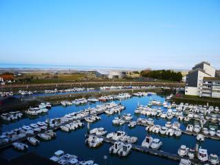 Grand studio avec balcon vue mer, Courseulles-sur-Mer