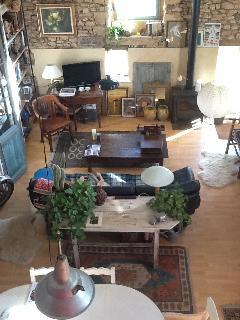 Salon vu de la mezzanine