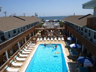 Heated Pool, Beach Just Across the Street, Seaside Park