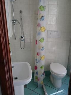 Little bathroom in the double bedroom