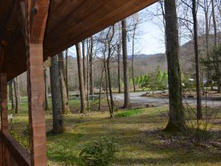 Relax to a beautiful view of the National Park from the front porch!