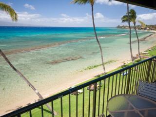 Oceanfront 2 Bedroom 2 Bath F-404 Papakea Resort, Ka'anapali