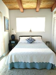 Front Bedroom Opens to Balcony/ Queen Bed
