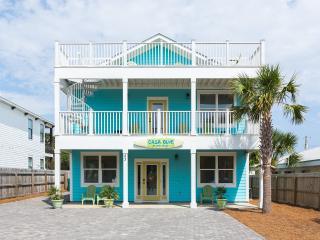 Casa Blue!  New beach house.  Absolutely beautiful inside 6 bedroom, 5 Bath. 3,100  sq ft.