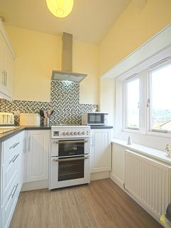 The Kitchen is brand new with all modern appliances