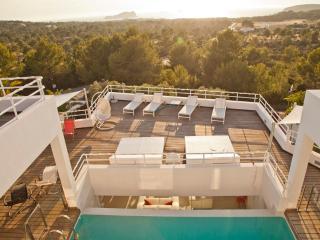 Stylish Seaview Villa in Cala Conta, Sant Josep de Sa Talaia
