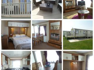 Skipsea  Sands  Caravan ,Sea view,  C/h-D/g ,WIFI