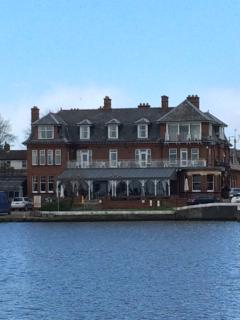 Wherry Hotel in Oulton Broad a quick drive, bus or cycle (great Sunday lunches)