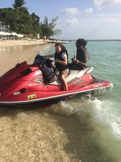 jetski operator Mali  offers special discounted rates to our guests, plus helps arrange other hires