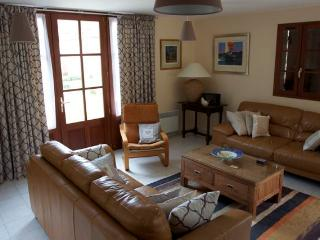 Beautifully decorated interior of La Bruyere villa-comfortable décor, with lots of space and light..
