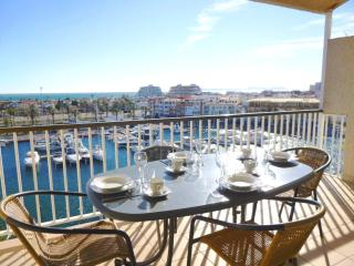 0160-Port Grec Duplex con vista al canal y al mar