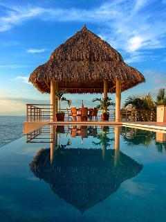 Palapa for sunset cocktails or evening coffee