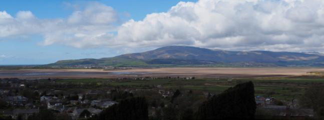 Looking across The Duddon Estuary onto Black Combe