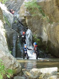 canyoning is nearby