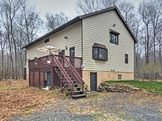 New Listing! Serene 4BR Long Pond House w/Wifi, Spacious Loft & 2 Private Decks - Phenomenal Pocono Mountain Location! Easy Access to Countless Outdoor Activities!