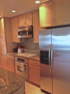 fully equipped Kitchen self catering