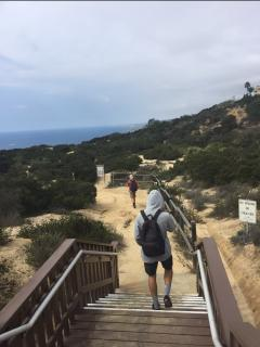 Dana Point Headlands Reserve Hike, just at the end of the street