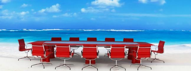 Hold your Meeting in Villa or on the Beach
